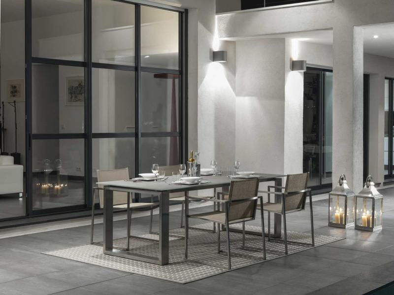 Talenti Essence Stainless Steel Table