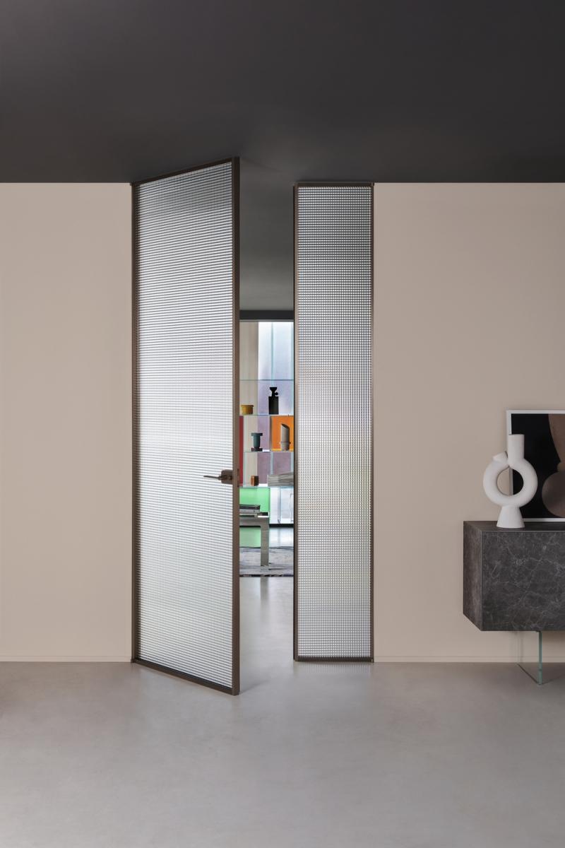 Glas Italia Sherazade Double Swing Plain Door