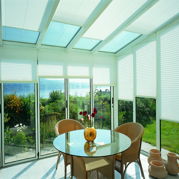 Silent Gliss Pleated Blinds