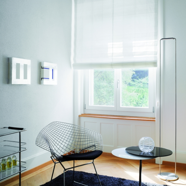 Silent Gliss Roman Blinds